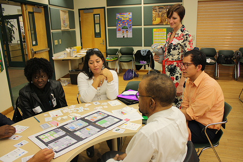 Teachers Planning Around a Table